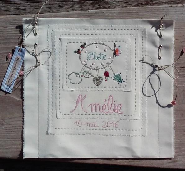Amélie - Les points de bonheur - Noelle Sandoli - Pochette