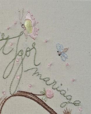 Details Album photos - Mariage - Les points de bonheur - Noelle Sandoli