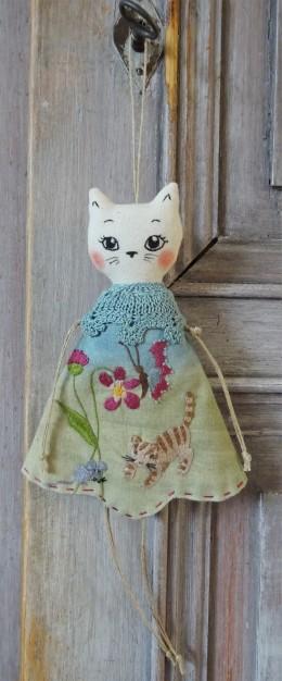 Lutine chat - Les points de bonheur - Noelle Sandoli
