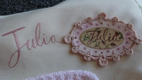 Les points de bonheur - Crochet - Aquarelle - Julia
